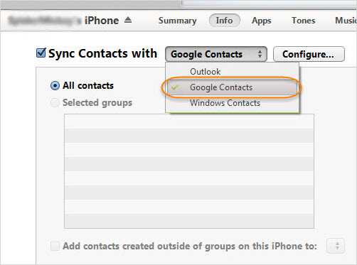 How to Transfer Contacts from iPhone to Android - Image 1