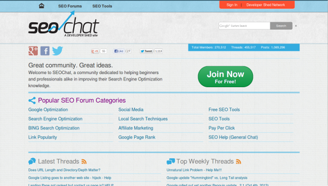 Top 15 SEO and Webmaster Forums To Trade Resources Online - Image 8