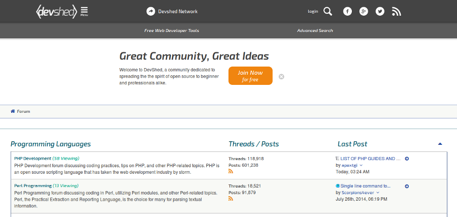 Top 15 SEO and Webmaster Forums To Trade Resources Online - Image 9