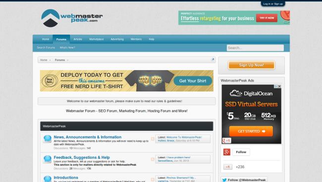 Top 15 SEO and Webmaster Forums To Trade Resources Online - Image 10