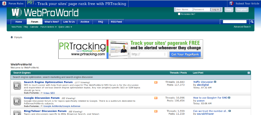 Top 15 SEO and Webmaster Forums To Trade Resources Online - Image 11