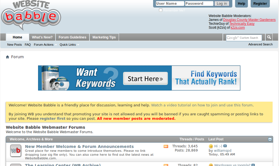 Top 15 SEO and Webmaster Forums To Trade Resources Online - Image 12