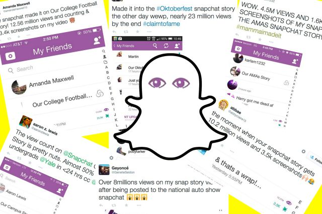How Snapchat Garnered millions of views overnight with - Image 1
