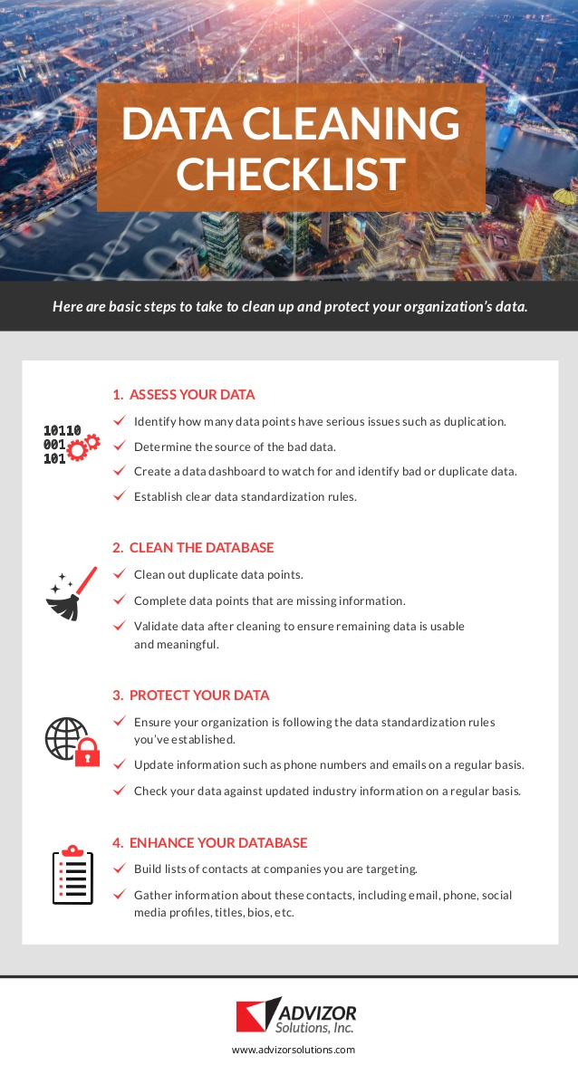 How To Clean Up Your Data - Image 1