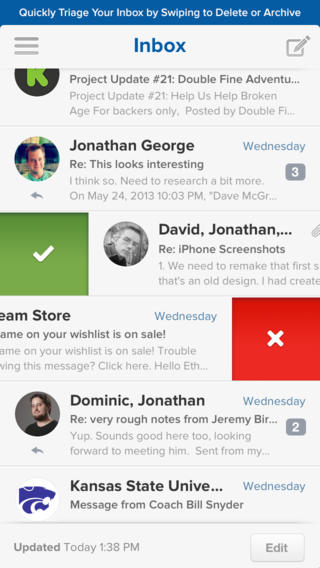 5 of the Best Email Apps for the IPhone - Image 1