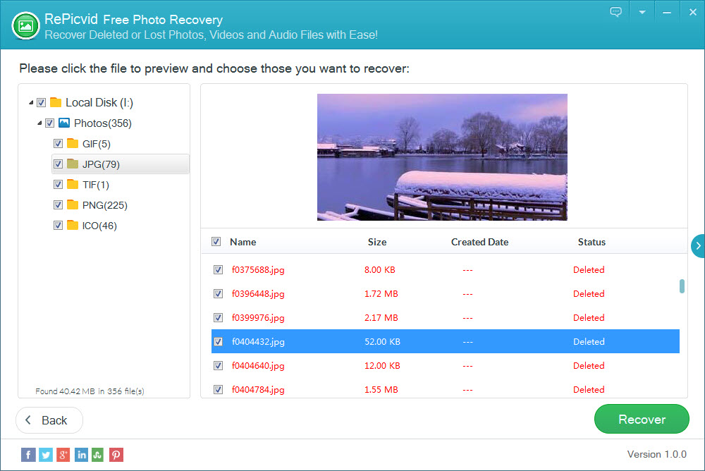 Free Way to Recover Deleted/Formatted/Lost Pictures from SD Memory Card - Image 4