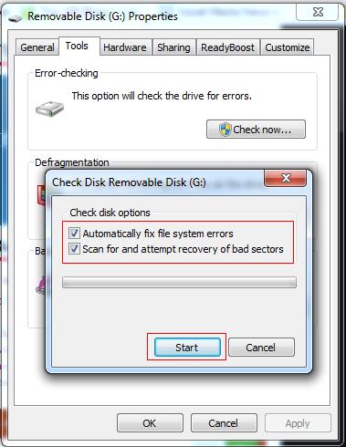 How to Fix Corrupted USB Flash Drive/Pen Drive - 21475
