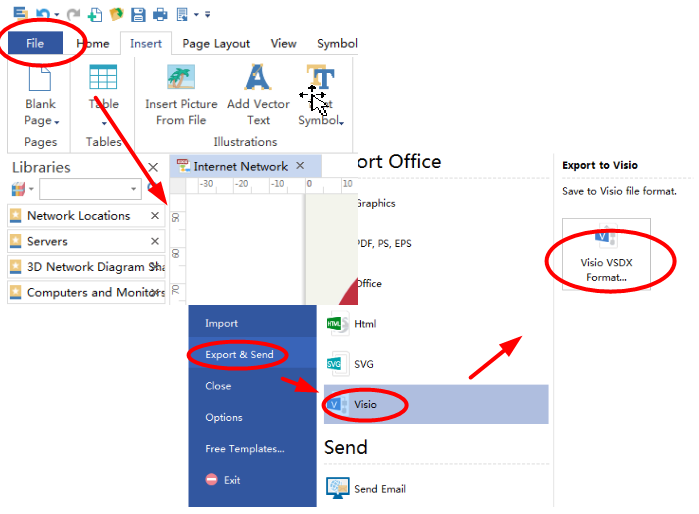 How to Create a MS Visio Computer Network Diagram - Image 6