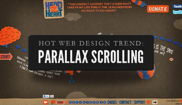 Parallax Scrolling in Web Design: Is It Really Worthy? - Image 1