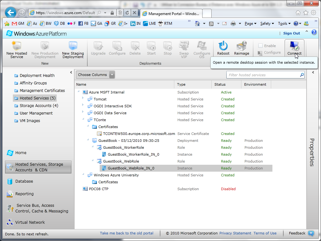 Review of the New Cloud-Based Windows Azure Admin Portal - Image 2