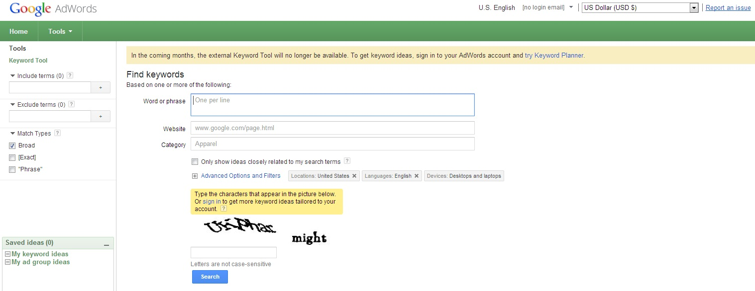What will be the Google Keyword tool replacement? - Image 1