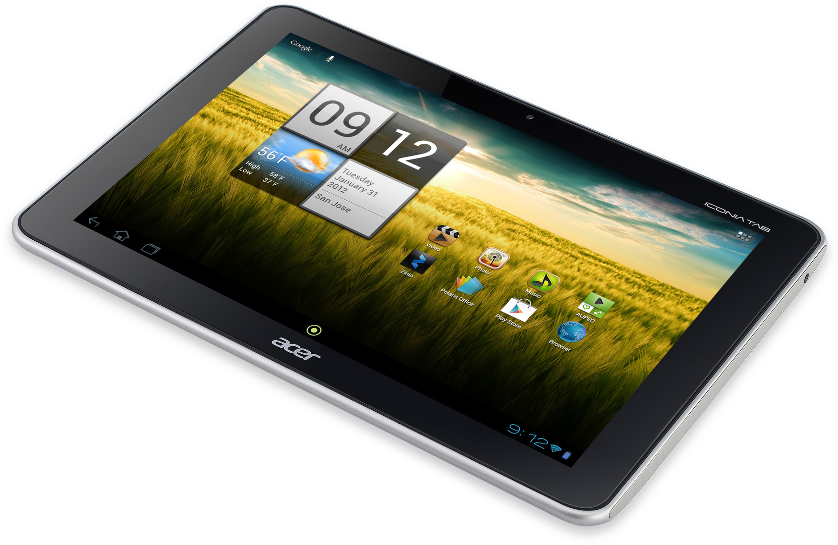 Acer Iconia Tab A210: Product Review - Image 1