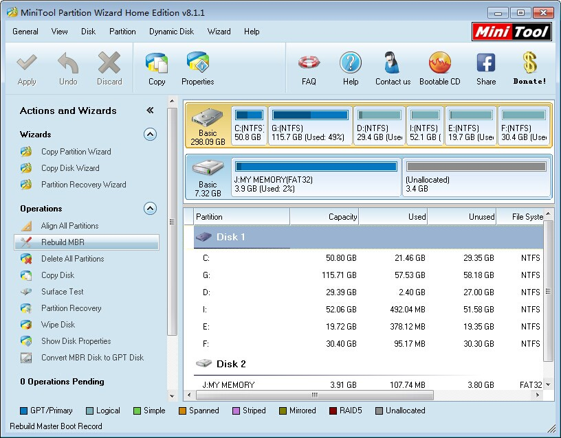 MiniTool Partition Wizard Home Edition 8.1.1 Review - Image 3