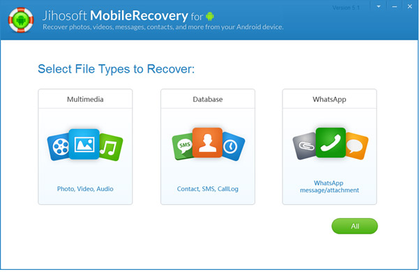 Jihosoft Android Phone Recovery: Recover Data from Android - Image 2