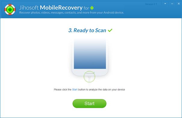 Jihosoft Android Phone Recovery: Recover Data from Android - Image 3