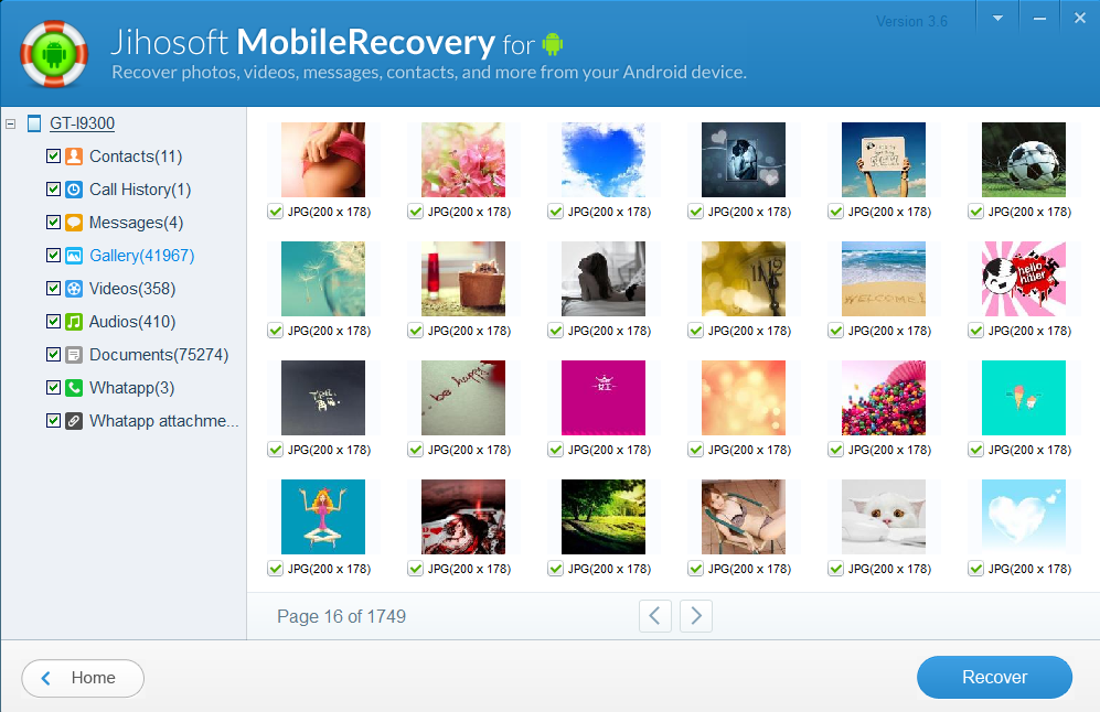 Jihosoft Android Phone Recovery: Recover Data from Android - Image 4