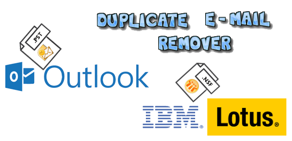 Duplicate Email's Remover for Outlook and Lotus Note - Image 1