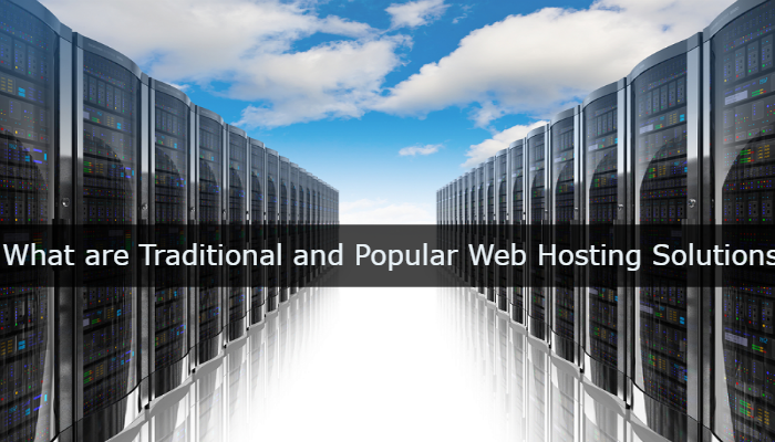What are Traditional and Popular Web Hosting Solutions? - Image 1