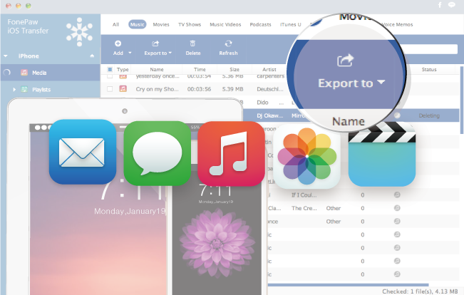 How to Delete Photos, Videos, and Music from iPhone/iPad - Image 1