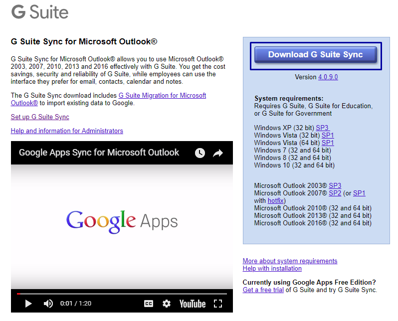 Google App Sync Outlook 2013 Fails - Reasons & Solution - Image 1