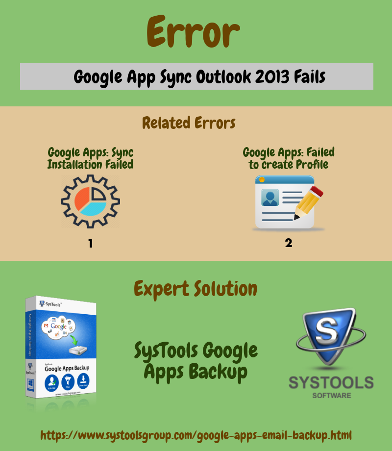 Google App Sync Outlook 2013 Fails - Reasons & Solution - Image 4