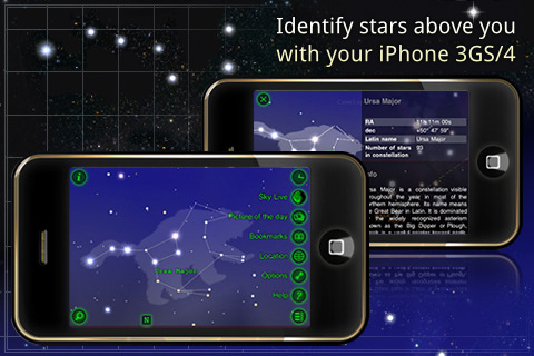 Follow the planets and stars using your iPhone Apps - Image 1