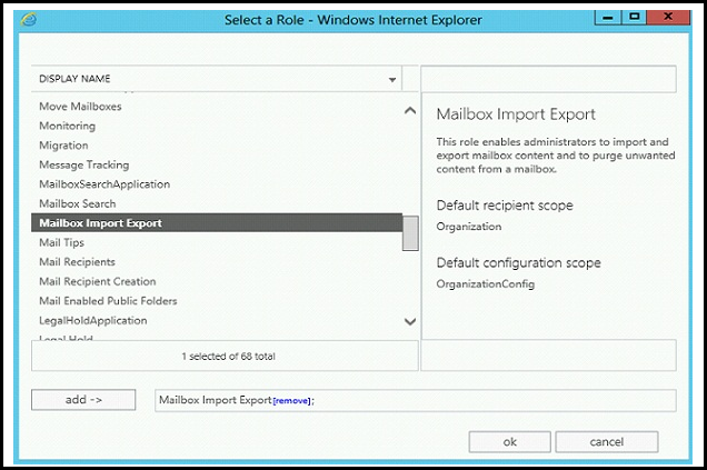 How to Export Mailbox to PST in Exchange 2013 Server Using Exchange Admin Center - Image 8