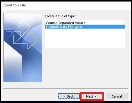 How to Split PST file in Outlook 2016/2013/2010/ 2007 Platform - Image 8