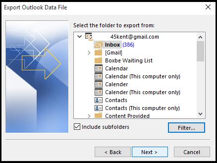 How to Split PST file in Outlook 2016/2013/2010/ 2007 Platform - Image 9