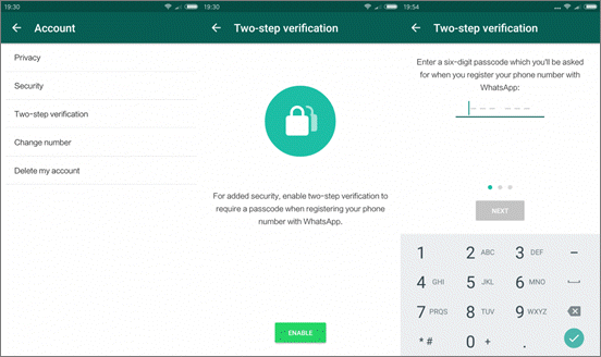 How to Change WhatsApp Password and Retrieve WhatsApp Messages