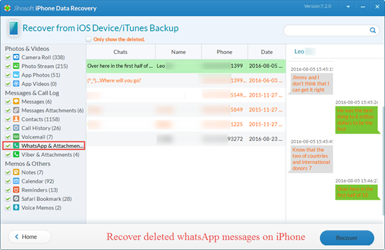 How to Recover Deleted WhatsApp Messages on iPhone - Image 1