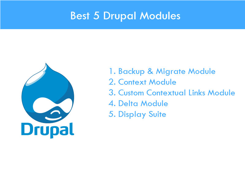 5 Drupal Modules that Help Drupal Web Development - Image 1