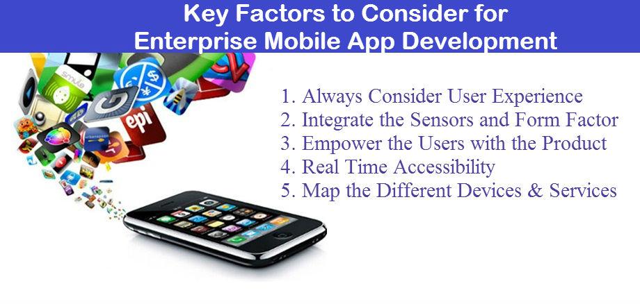 Key Factors to Consider for Enterprise Mobile App Development - Image 1