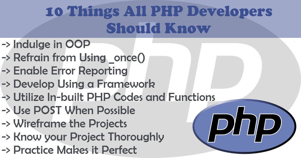10 Things All PHP Developers Should Know - Image 1