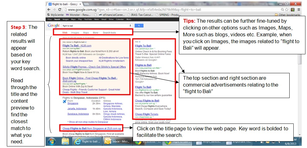 New Tools for Old Age (Tit-bITs 2 of 11) - About Web Browsers & Google Search Engine - Image 11