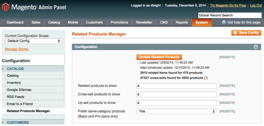 How to Use Magento Settings to Manage an Extension Settings? - Image 1
