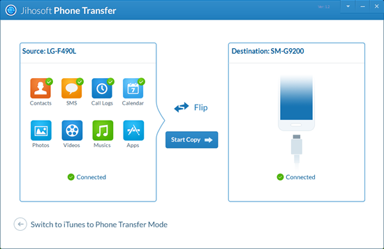Phone Transfer: Transfer Data from Phone to Phone - Image 2