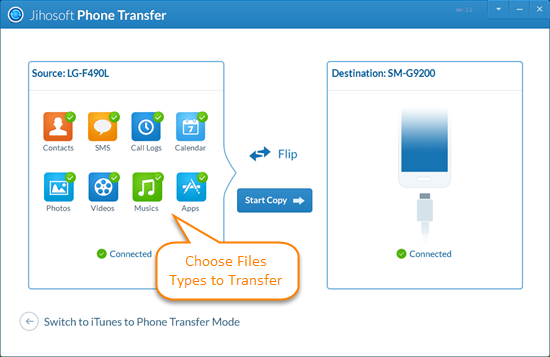 Phone Transfer: Transfer Data from Phone to Phone - Image 3