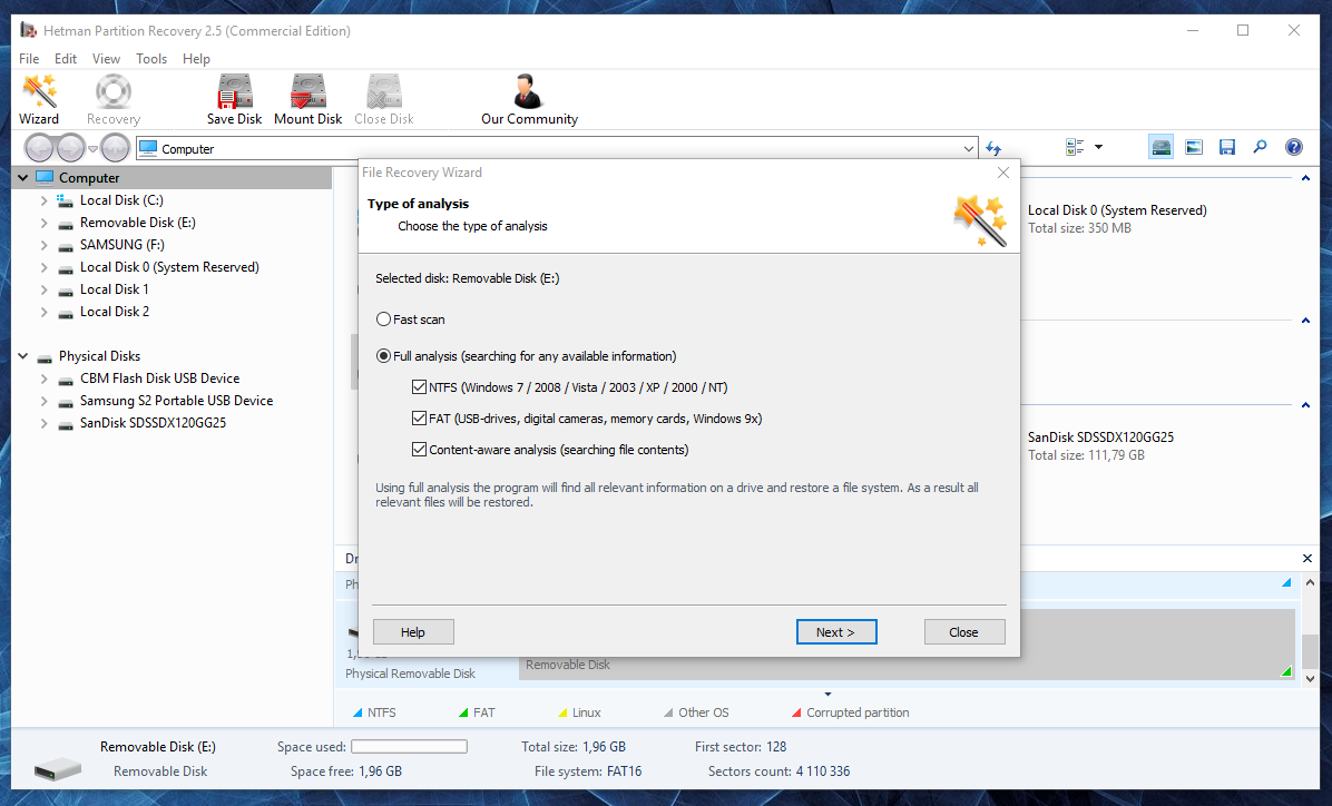 Hetman Partition Recovery: Hard Drive or External Disk Recovery Software - Image 3