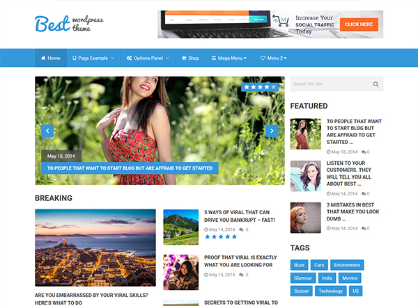 10 Best WordPress Themes which are SEO Ready - Image 9