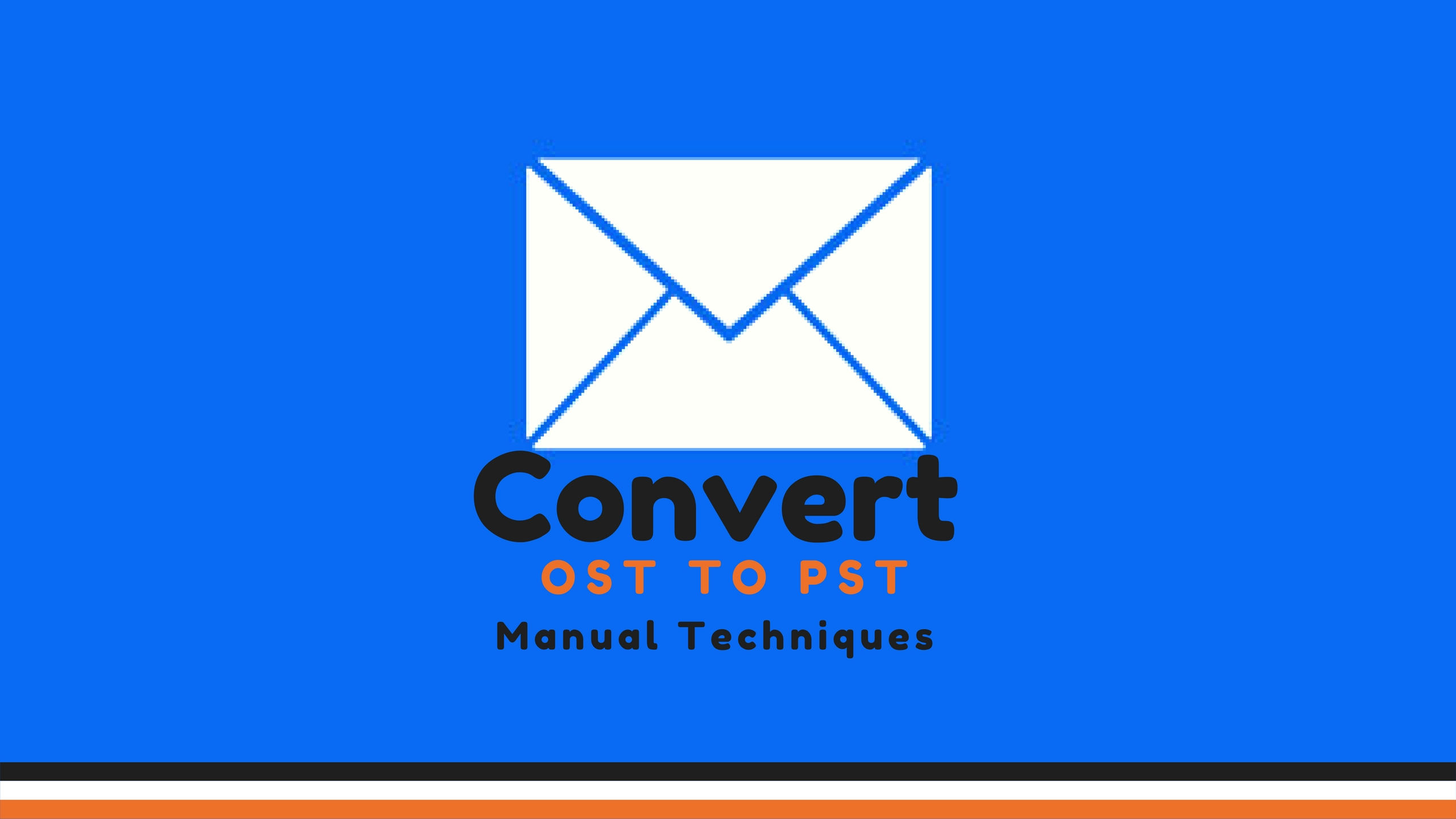 How To Convert OST Files To PST (A Manual Conversion Guide) - Image 1