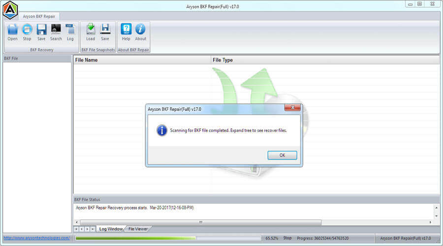 How To Recover Corrupt BKF Files - Image 4