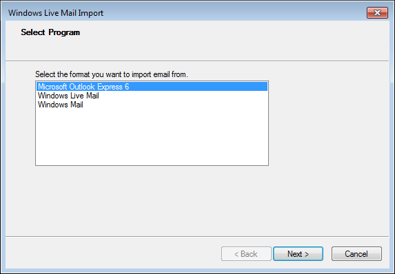 How To Convert Outlook Express To Outlook - Image 4