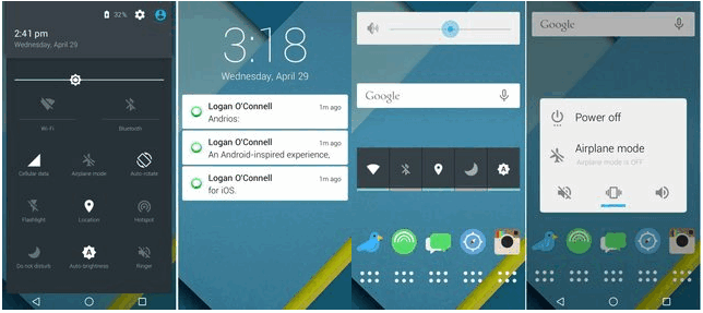 How to convert your iOS device into an Android Lollipop - Image 1