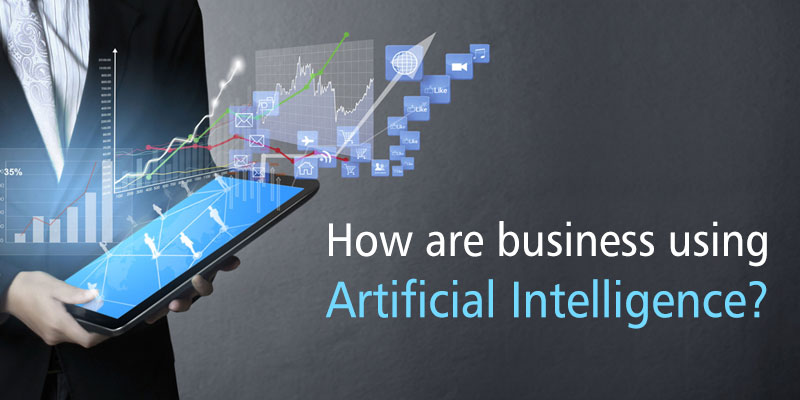 How are businesses using artificial intelligence? - Image 1