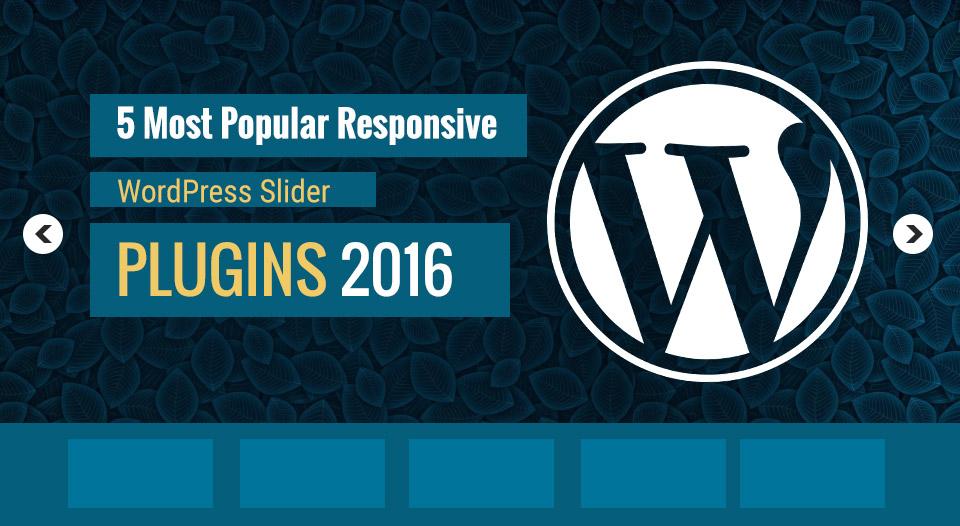 5 Most Popular Responsive WordPress Slider Plugins 2016 - Image 1