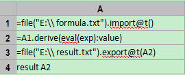 esProc Helps Process Structured Texts in Java -Expression Computing - Image 2
