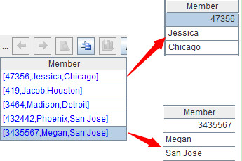 esProc Helps Process Structured Texts in Java -Non-Single Row Records - Image 7
