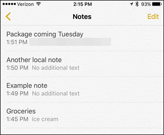 How to Move Notes from On My iPhone to iCloud - Image 3