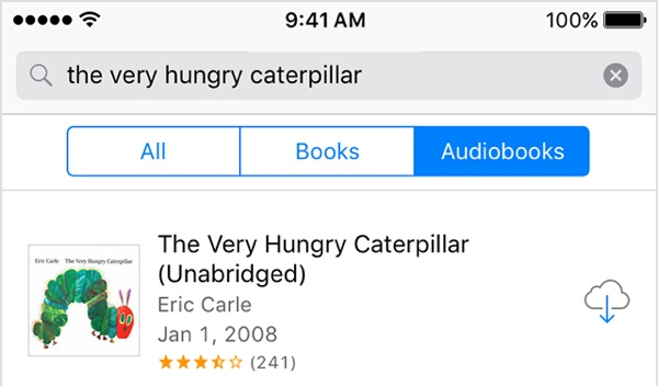 Audiobooks bought from Apple can now be re-downloaded using iCloud - Image 1